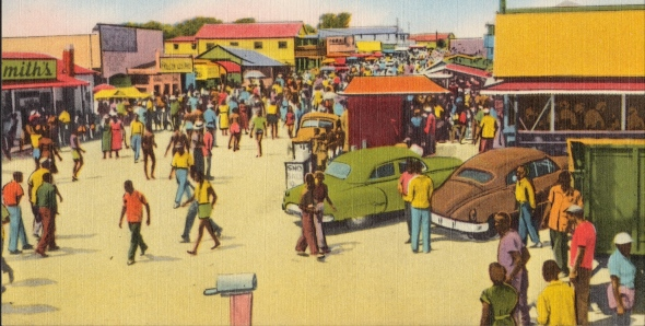 Street_Scene_at_Atlantic_Beach_SC_1930_cropped